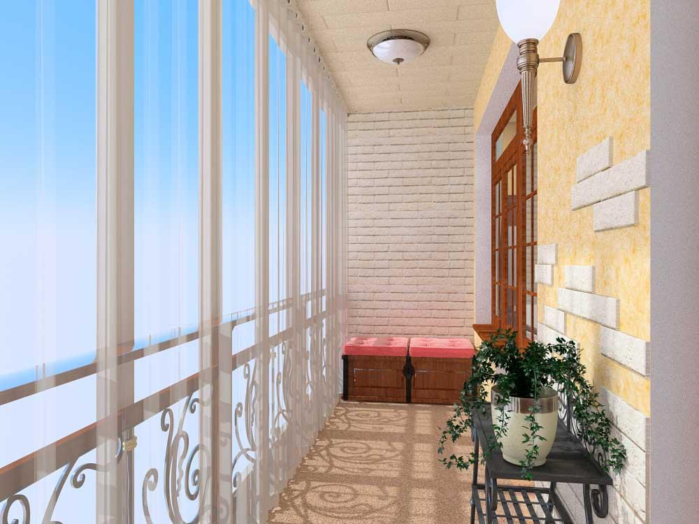 Французский балкон как оформить.