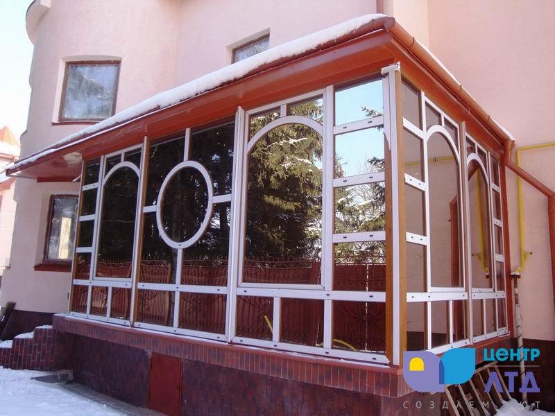окна с гнутыми импостами