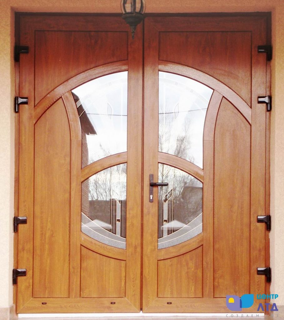 входные двери пвх на заказ