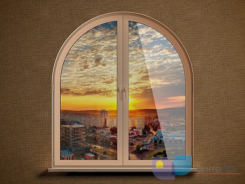 арочное окно
