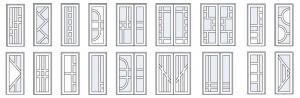 міжкімнатні пластикові двері
