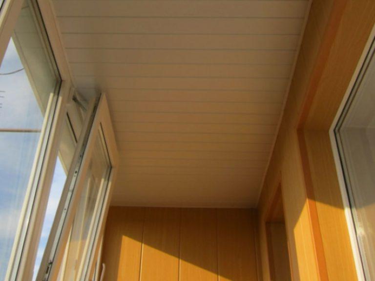 Потолок на балконе - утепление и отделка центр лтд.