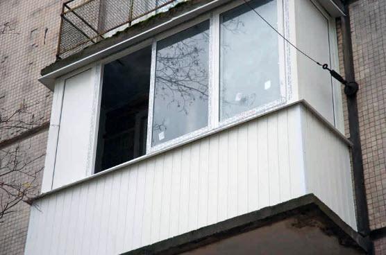 отделка балкона внешняя фото