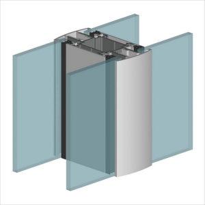 ALT 110 - алюминиевая перегородка